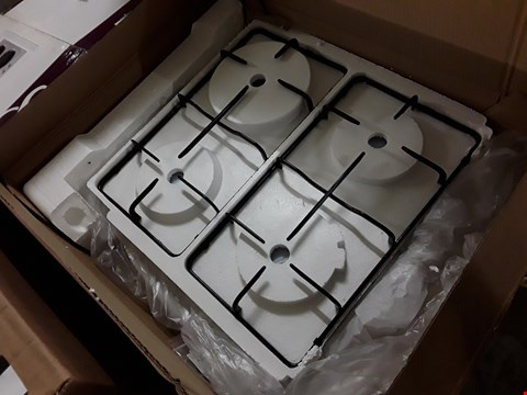 Lot 39 STAINLESS STEEL GAS HOB RRP £97