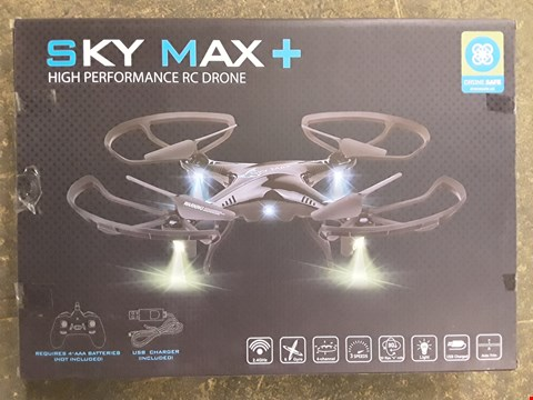 Lot 7259 BOXED SKY MAX+ HIGH PERFORMANCE DRONE