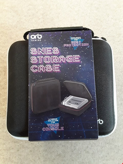 Lot 148 BRAND NEW ORB SNES STORAGE CASE