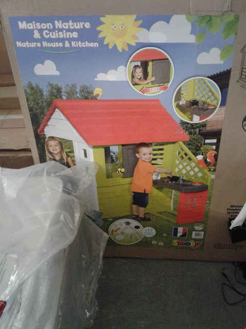 Lot 7125 BOXED SMOBY MAISON NATURE & CUISINE NATURE HOUSE AND KITCHEN RRP £246