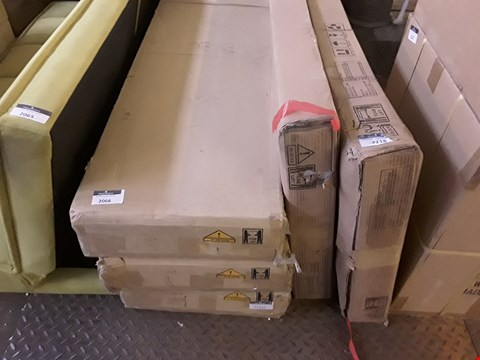 Lot 2066 LOT OF 5 BOXED ASSORTED FLAT PACK FURNITURE PARTS