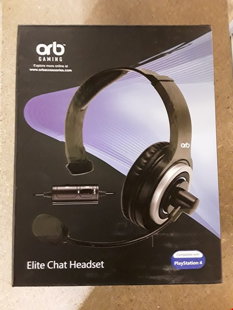 Lot 140 BRAND NEW BOXED ORB PS4 ELITE CHAT HEADSET