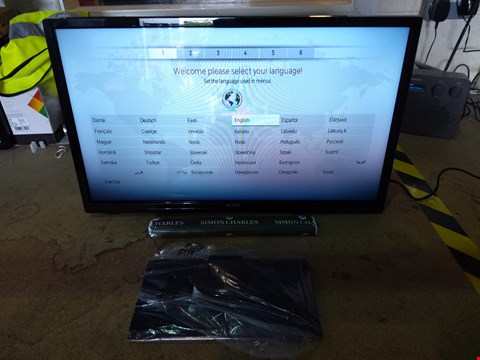 "Lot 168 LUXOR 24"" HD READY TELEVISION MODEL LUX0124001/01 WITH REMOTE RRP £149.99"