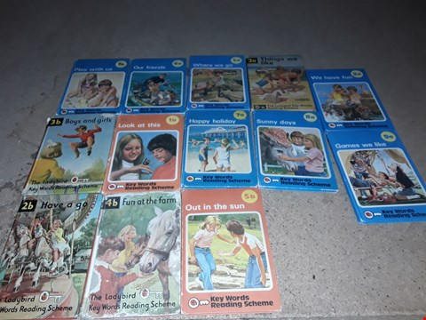 Lot 144 LOT OF APPROXIMATELY 13 ASSORTED LADYBIRD BOOKS TO INCLUDE OUT IN THE SUN, WE HAVE FUN, SUNNY DAYS AND BOYS & GIRLS ECT