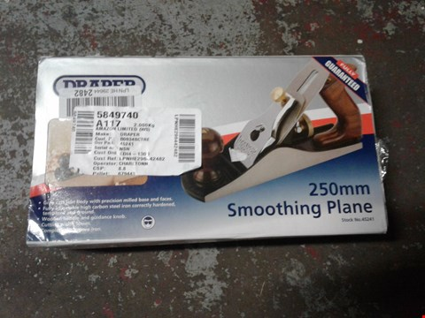 Lot 132 Draper 45241 250 mm Smoothing Plane