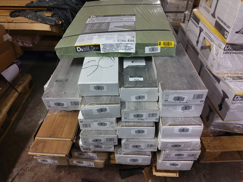Lot 506 PALLET OF ASSORTED LAMINATE FLOORING  RRP £290.00