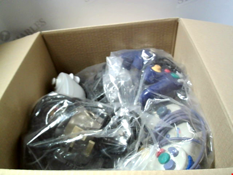 Lot 6239 BOX OF ASSORTED GAMING ACCESSORIES ETC