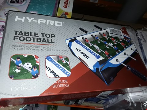 Lot 6069 20INCH TABLE TOP FOOTBALL TABLE GRADE 1 RRP £25.00