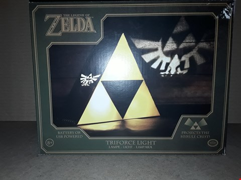 Lot 172 BOXED BRAND NEW THE LEGEND OF ZELDA TRIFORCE LIGHT