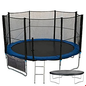 Lot 561 MAXI JUMP 10FT TRAMPOLINE (2 BOXES)
