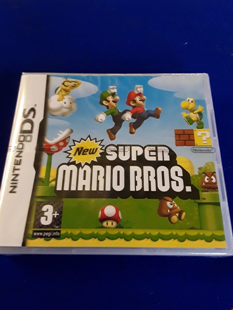 Lot 7615 SUPER MARIO BROTHERS NINTENDO DS GAME