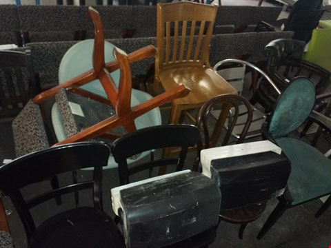 Lot 5191 LOT OF APPROXIMATELY 10 ASSORTED CHAIRS