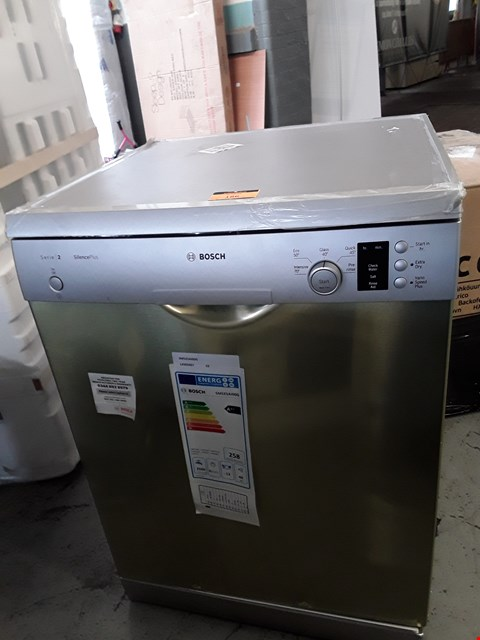 Lot 186 BOSCH SERIES 2 SILENCEPLUS 12 PLACE DISHWASHER