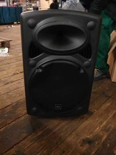 Lot 6 BOXED QTX PORTABLE PA SYSTEM WITH MICROPHONE