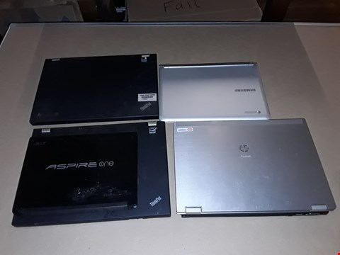 Lot 19 LOT OF 6 ASSORTED LAPTOPS TO INCLUDE LENOVO THINKPADS, HP ELITEBOOK AND SAMSUNG CHROMEBOOKS