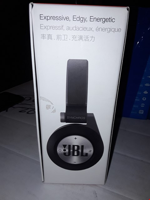 Lot 12414 JBL SYNCHROS E40BT WIRELESS HEADPHONES