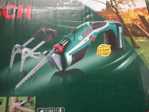 Lot 8260 BOSCH KEO CORDLESS GARDEN SAW WITH INTEGRATED 10.8v LITHIUM-ION BATTERY