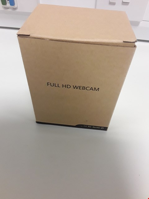 Lot 18076 BOXED FULL HD WEBCAM