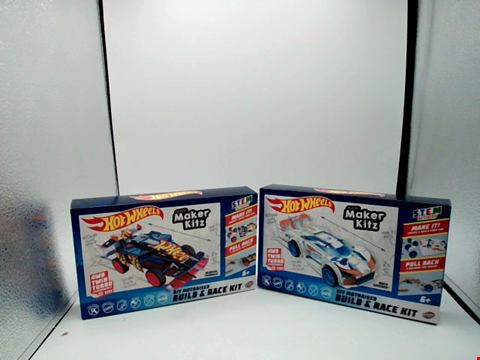 Lot 1026 LOT OF 2 BOXED HOT WHEELS BLADEZ MAKER KITZ