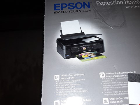 Lot 161 2X EPSON XP-342 WIFI PRINTER