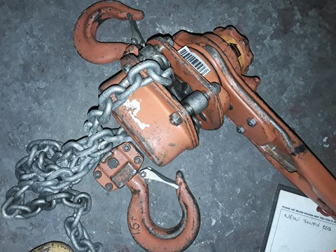 Lot 2042 HACKETT WH-RL5 3.2T HAND CHAIN HOIST