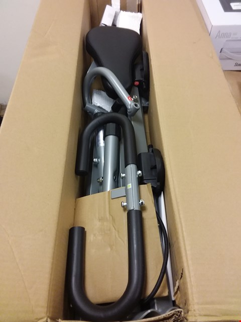 Lot 13836 SUNNY HEALTH & FITNESS UPRIGHT ROW-N-RIDE EXERCISER