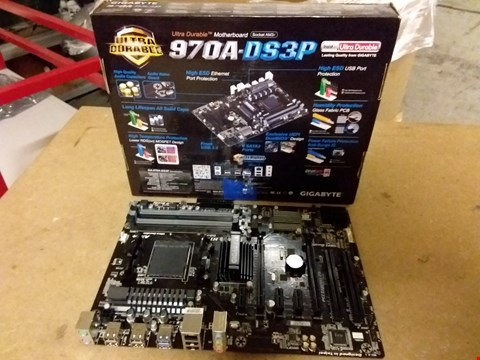 Lot 879 GIGABYTE GA970ADS3P MOTHERBOARD