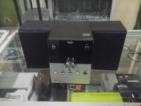 Lot 1076 BUSH CD/RADIO PLAYER WITH SPEAKERS