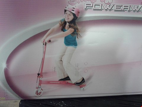 Lot 4436 RAZOR POWER WING SCOOTER SWEET PEA PINK