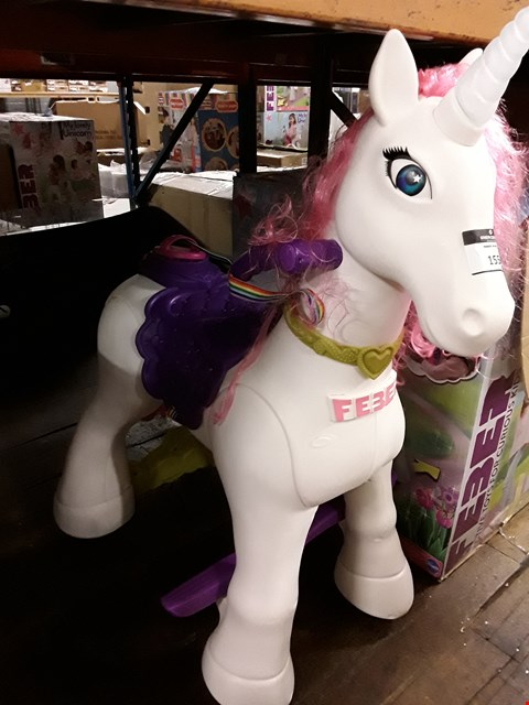 Lot 1557 FEBER MY LOVELY UNICORN 12V RRP £253