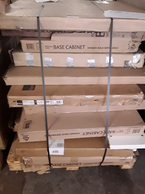 Lot 3021 PALLET OF ASSORTED FLAT PACK FURNITURE  RRP £785