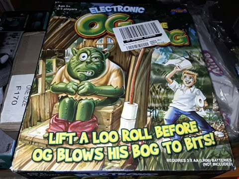 Lot 5041 ELECTRONIC OG ON THE BOG GAME RRP £27.99