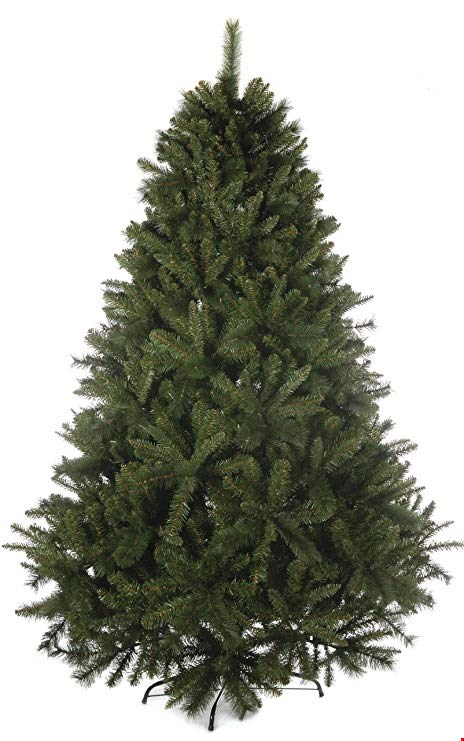 Lot 2480 BRAND NEW BOXED 7ft MAJESTIC PINE CHRISTMAS TREE RRP £139.99