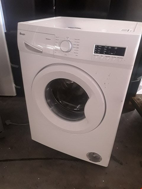 Lot 48 SWAN SW2051W WHITE 7KG 1200 SPIN WASHING MACHINE RRP £359