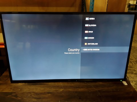 "Lot 258 CELLO C55SFS4K 55"" SUPERFAST SMART 4K HDR TV WITH WI-FI AND FREEVIEW T2 HD (GOOD PICTURE)"