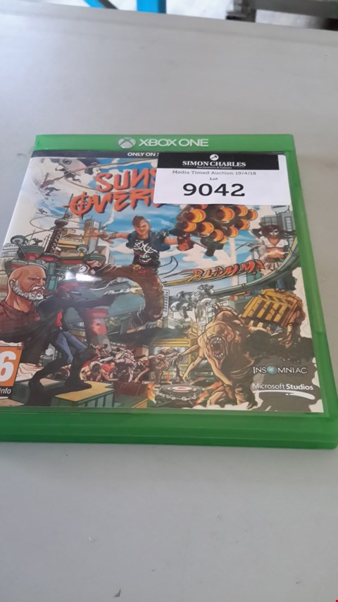 Lot 9042 SUNSET OVERDRIVE FOR XBOX ONE