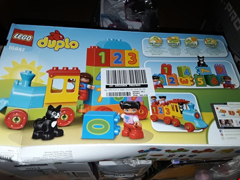 Lot 5033 LEGO DIPLO MY FIRST NUMBER TRAIN RRP £35.98