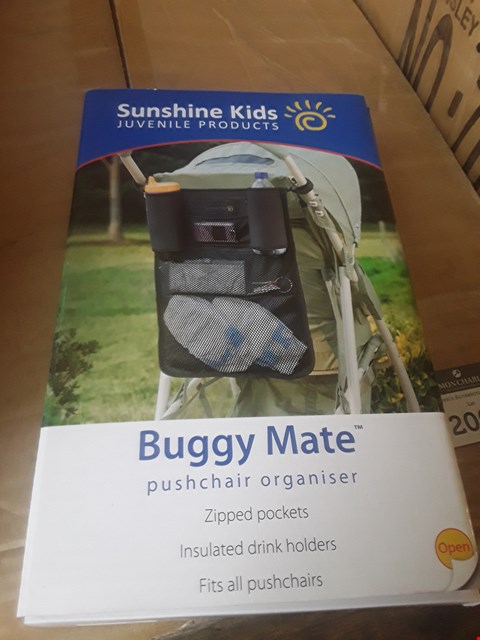 Lot 2008 24 BRAND NEW BOXED SUNSHINE KIDS BUGGY MATE PUSCHAIR ORGANISERS  RRP £215