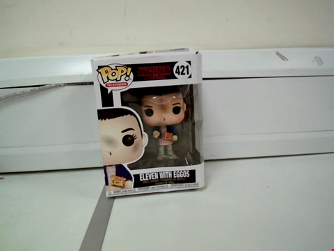 Lot 8004 BOXED POP! TELEVISION STRANGER THINGS ELEVEN WITH EGGOS VINYL FIGURE