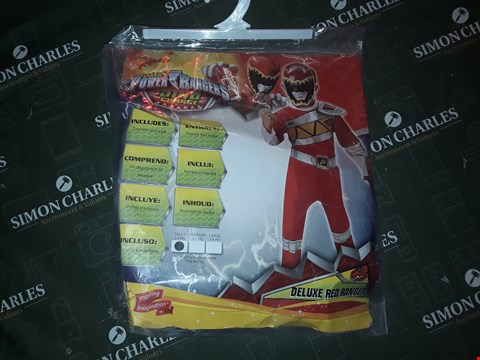 Lot 12199 SABAN'S POWER RANGERS DELUXE RED RANGER