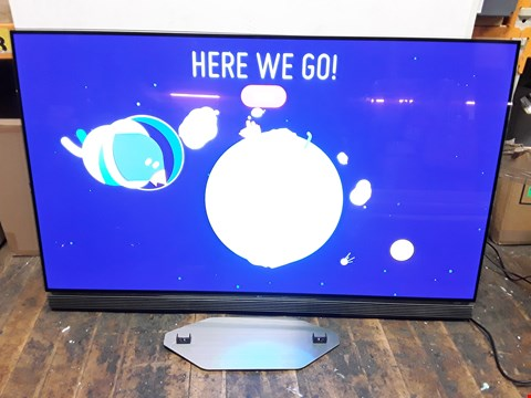 "Lot 4016 LG 55"" OLED55E6V TV"