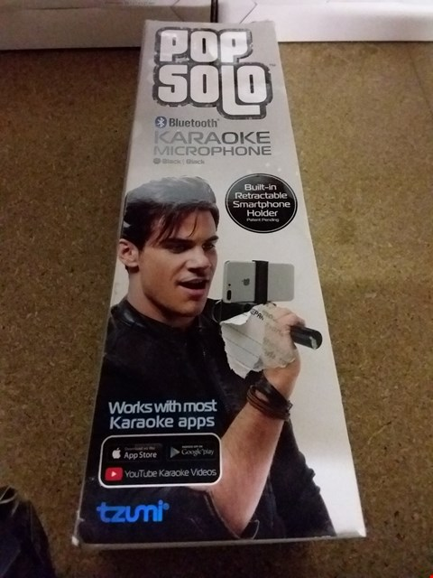 Lot 1439 POPSOLO BLUETOOTH KARAOKE MICROPHONE