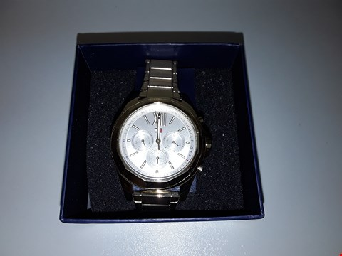 Lot 2158 TOMMY HILFIGER LADIES GOLD WRIST WATCH RRP £239.99