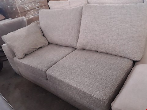 Lot 109 NANTUCKETT NATURAL FABRIC TWO SEATER SECTION