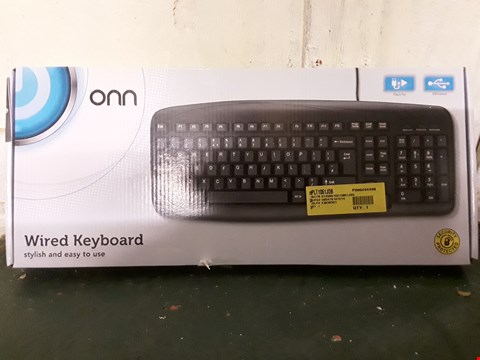 Lot 1033 BOXED WIRED KEYBOARD