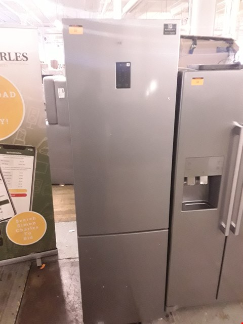 Lot 20 SAMSUNG RB37J5230SA SILVER 60CM FROST FREE FRIDGE FREEZER WITH DIGITAL INVERTER RRP £799.00