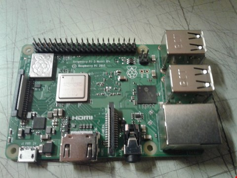 Lot 4265 RASPBERRY PI MODEL B+