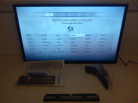 "Lot 120 BOXED LUXOR 32"" FULL HD FREEVIEW LED SMART TV WITH REMOTE  RRP £189.99"