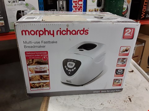Lot 3009 MORPHY RICHARDS MULTI-USE FASTBAKE BREADMAKER