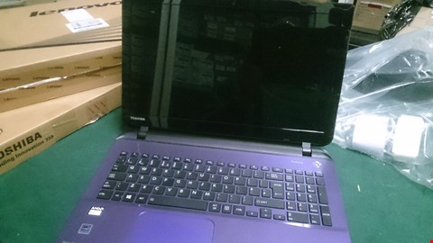 Lot 1517 TOSHIBA L50D-B-16T AMD6GB RAM, 1TB HDD MAUVE LAPTOP RRP £521.00